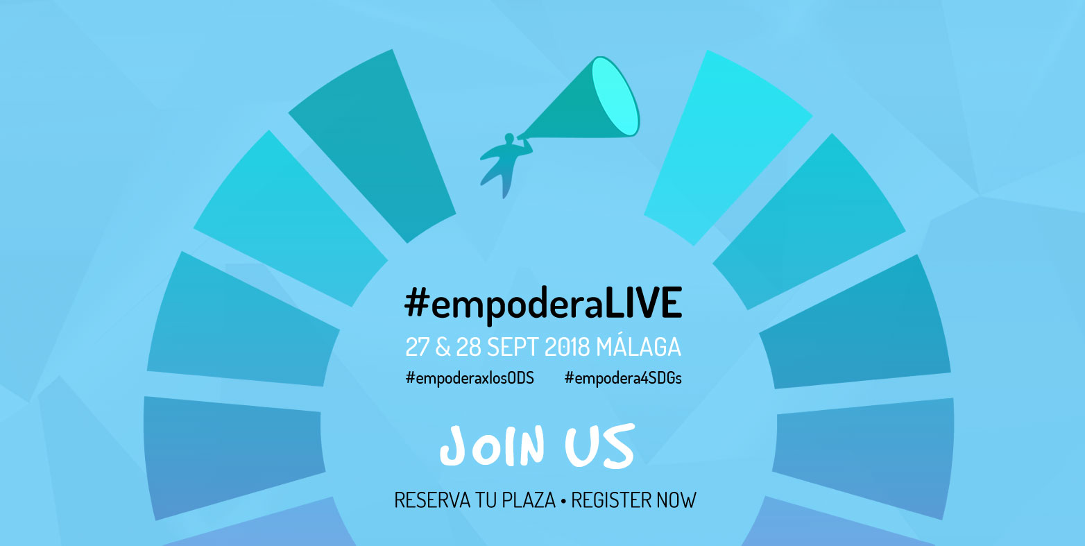 Book your place for #EmpoderaLIVE 2018: Empodera for the Sustainable Development Goals. Join us!