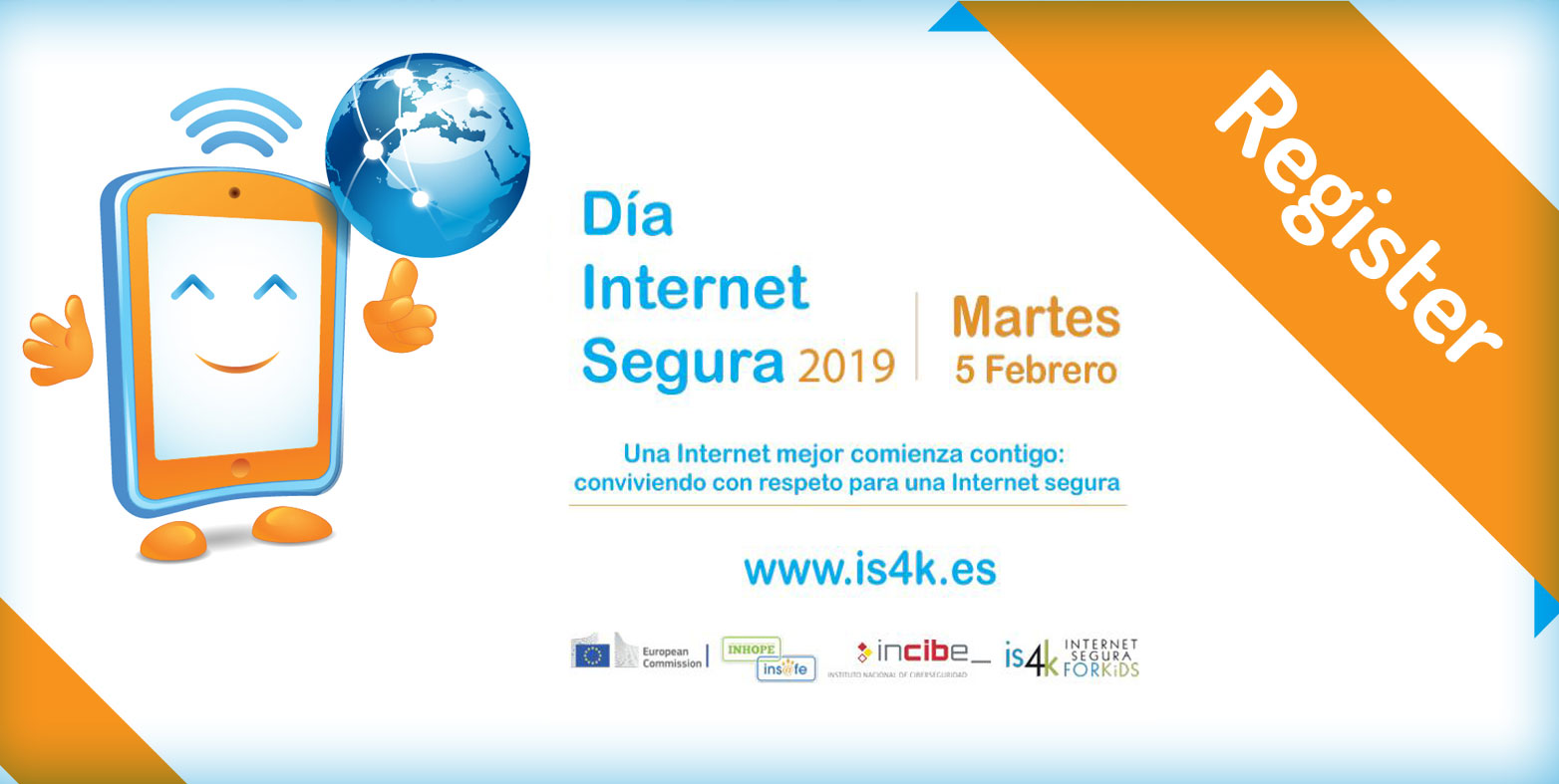 Come and celebrate Safer Internet Day 2019 with Cibervoluntarios