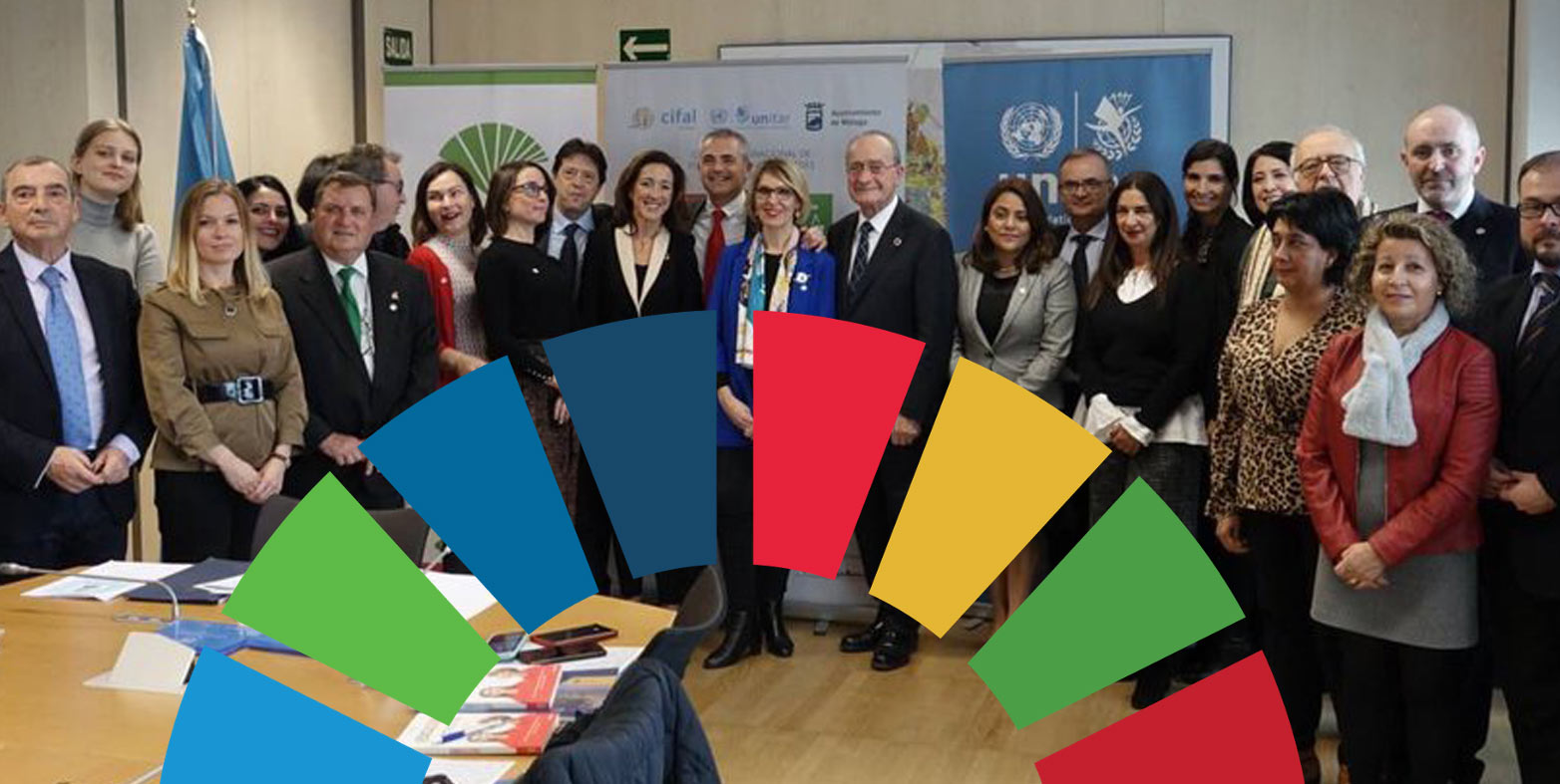 Cibervoluntarios parte del comité científico de CIFAL Málaga por los Objetivos de desarrollo Sostenible