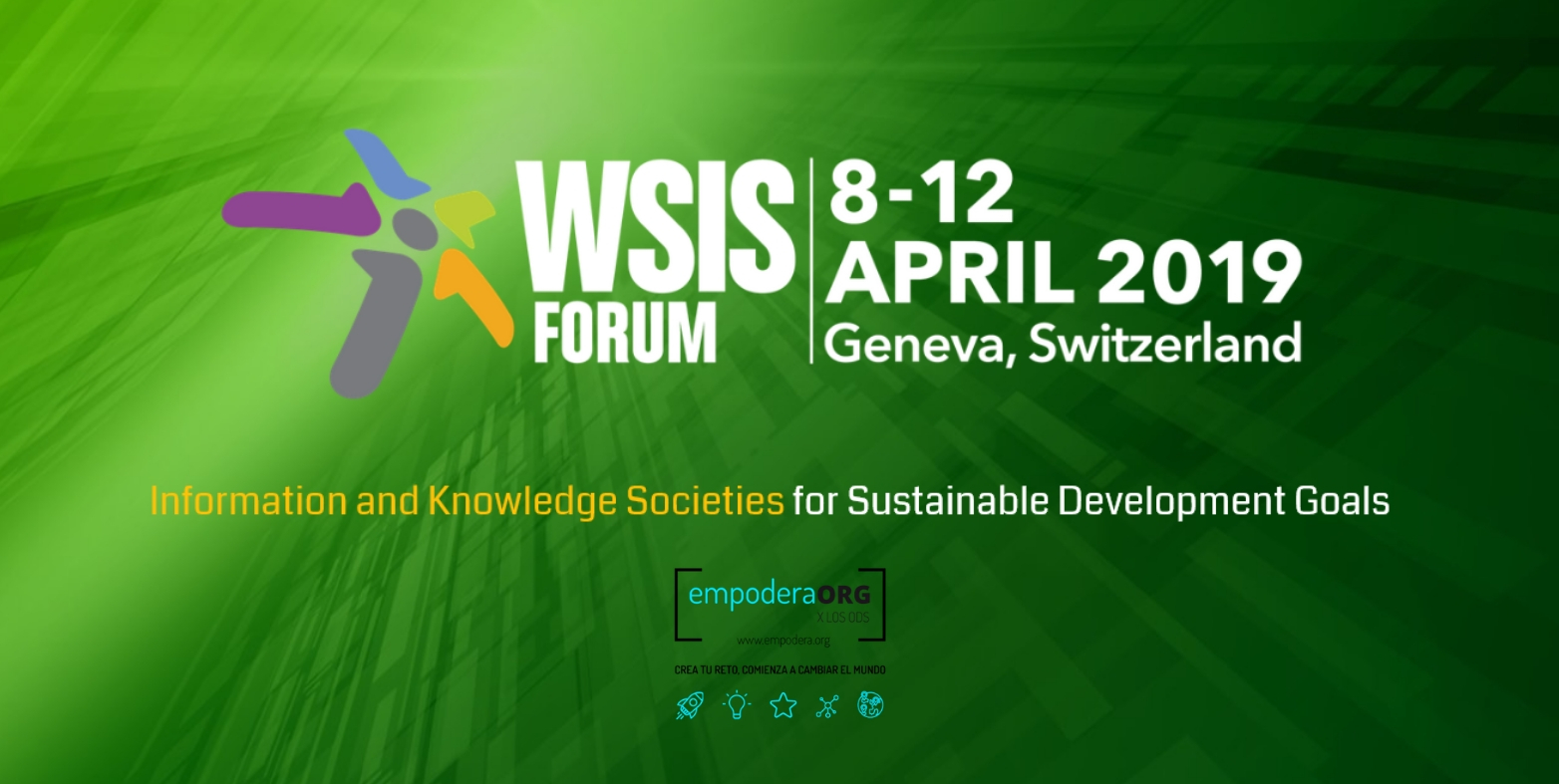 Fundación Cibervoluntarios takes part in the 10th Anniversary of the WSIS in Geneva: WSIS Action Lines and the #2030Agenda