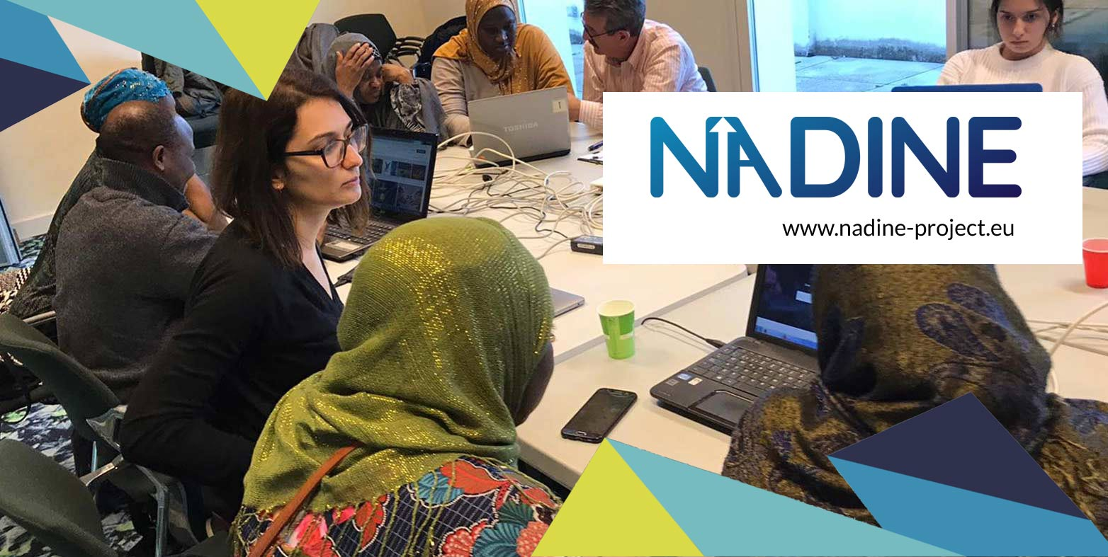 Comienzan los talleres piloto de NADINE: la plataforma para facilitar la inclusión de migrantes en Europa