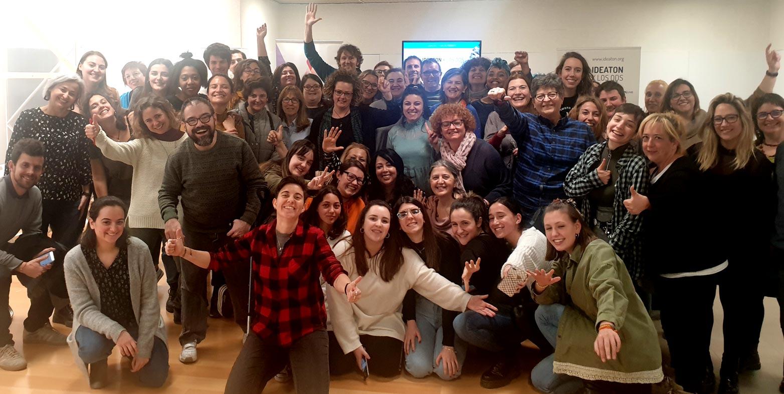 Éxito de participación ciudadana en el #IdeatonxlosODS celebrado en Zaragoza