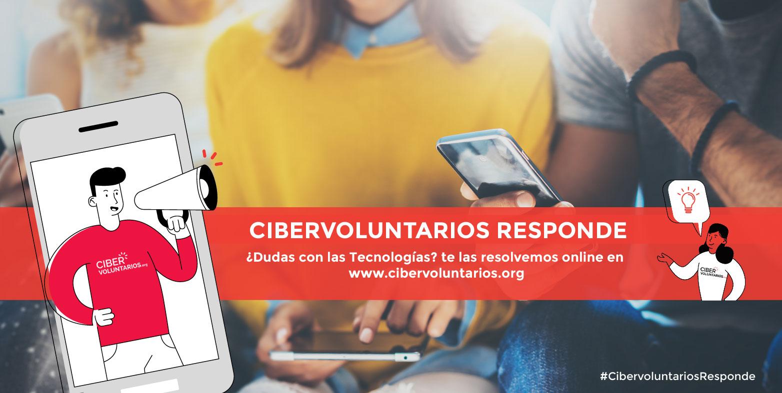 Cibervoluntarios Responde contesta las preguntas tecnológicas de la ciudadanía