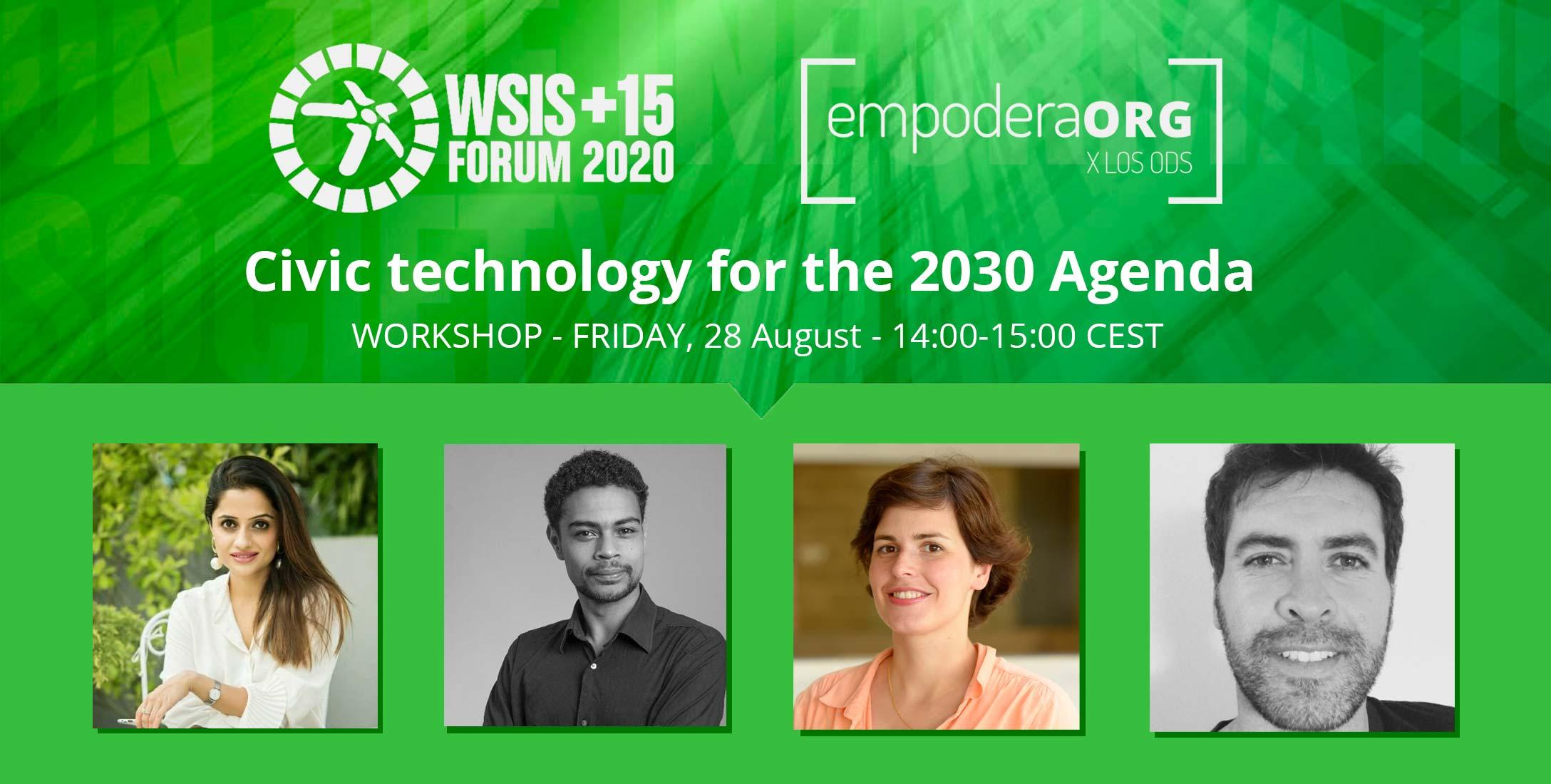 Cibervoluntarios organiza el Panel de la WSIS 2020