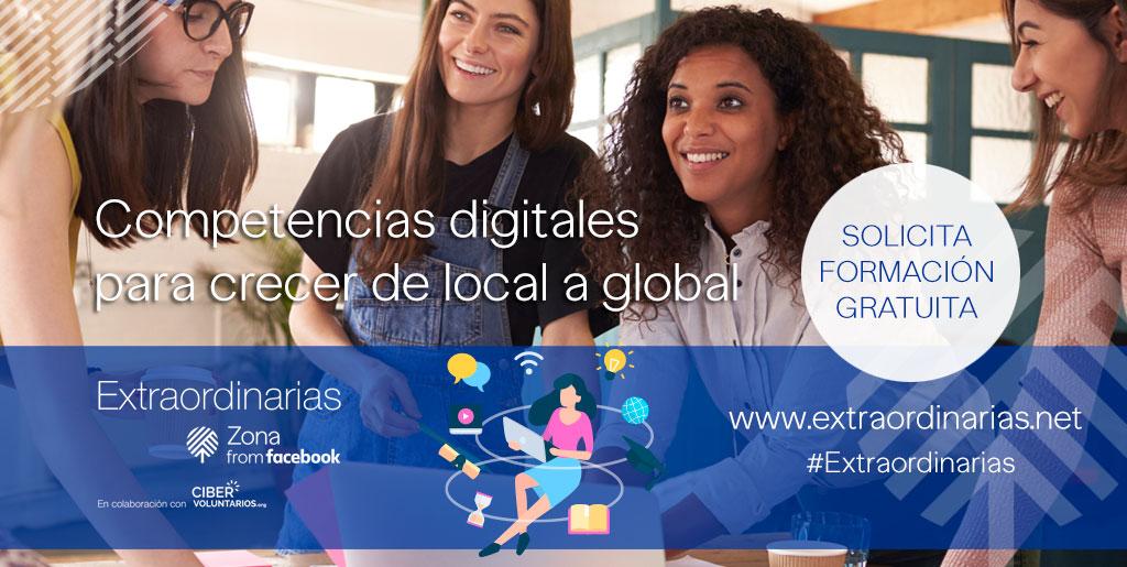 Comienza la segunda edición de Extraordinarias para formar a 1.000 mujeres emprendedoras en Competencias Digitales