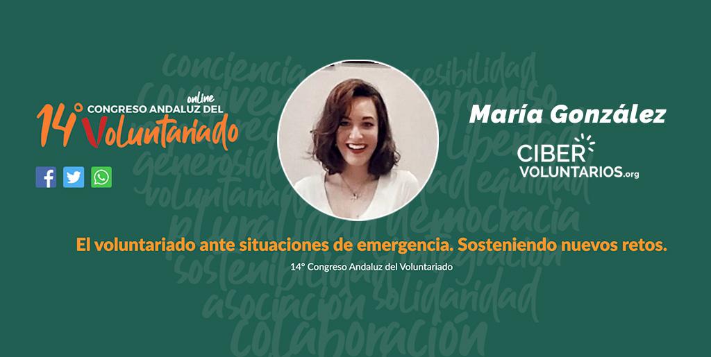 Cibervoluntarios en el XIV Congreso Andaluz de Voluntariado: El voluntariado ante situaciones de emergencia.