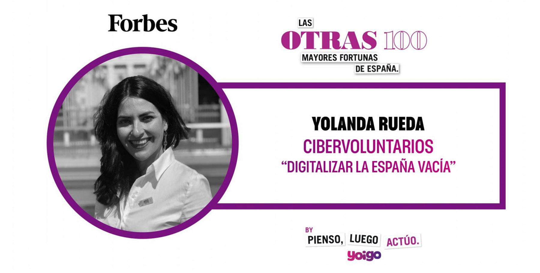 Forbes Spain chooses Fundación Cibervoluntarios as one of