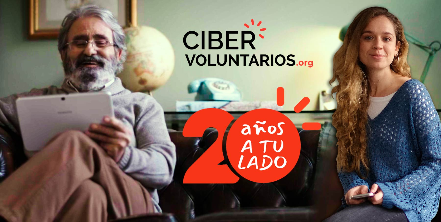 Cibervoluntarios turns 20 by your side