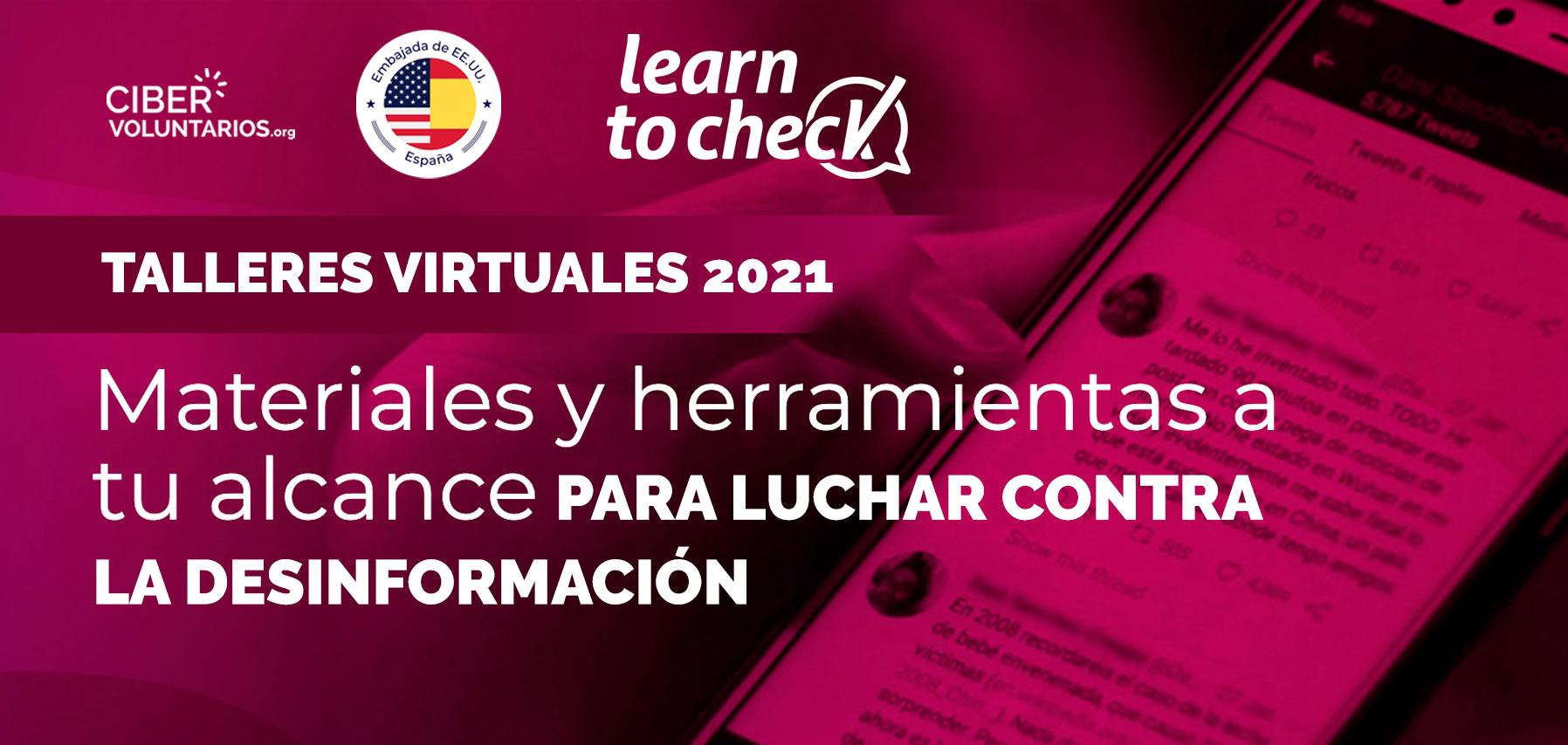 Nuevas formaciones virtuales con Learn to Check: Enseñando a luchar contra la desinformación
