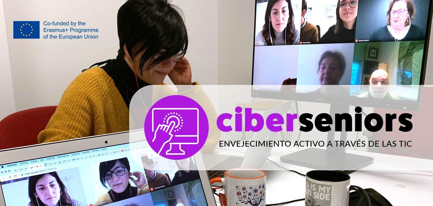 Comienza oficialmente Ciberseniors: el nuevo Programa Erasmus Plus coordinado por Cibervoluntarios
