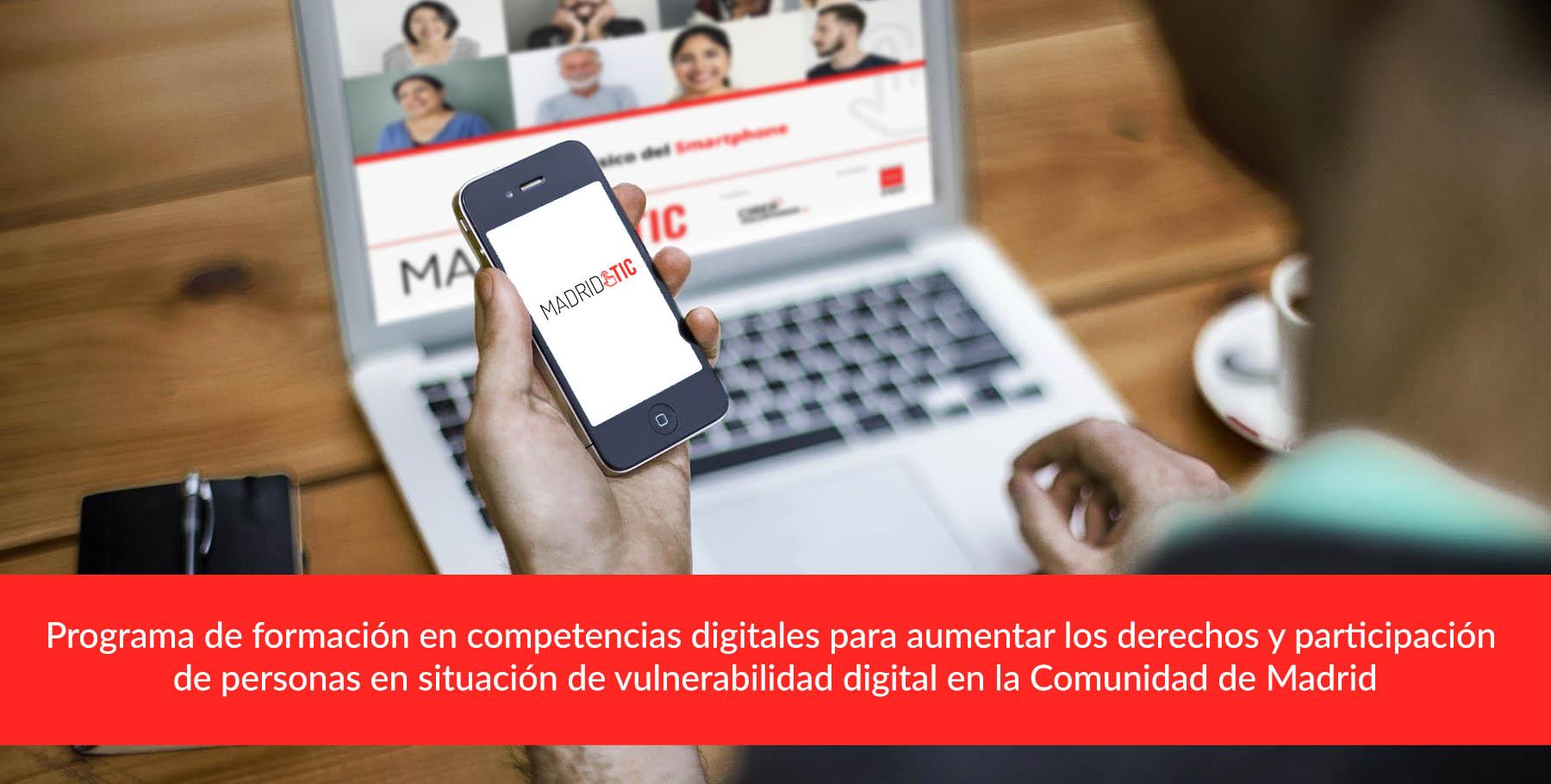 Primera ciberformación con Grupo 5 Residencia Alcobendas: Iniciación al smartphone