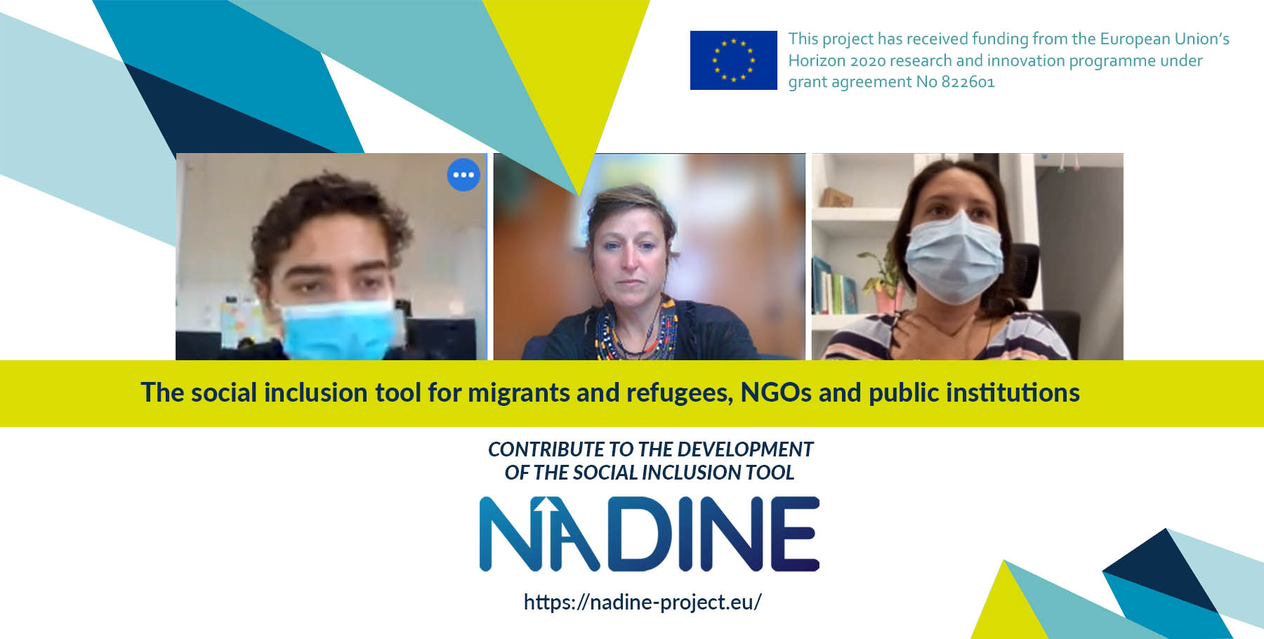 NADINE pilot phase completed: employment and training for the integration of migrants, refugees and asylum seekers