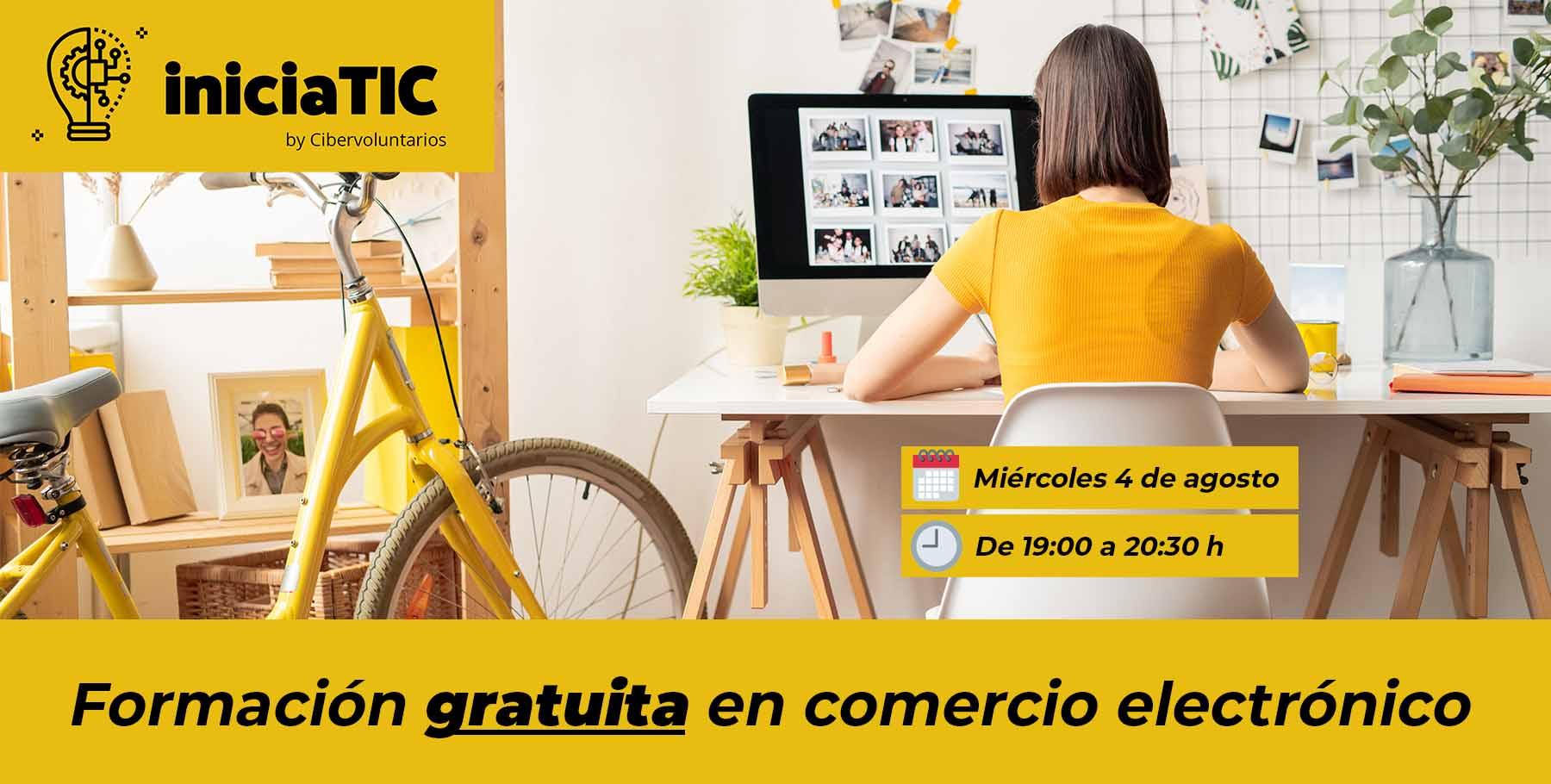 Impulsa tu negocio con la nueva ciberformación abierta y gratuita sobre e-commerce de IniciaTIC